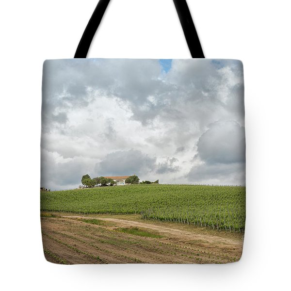 Vineyard In Sardinia Tote Bag