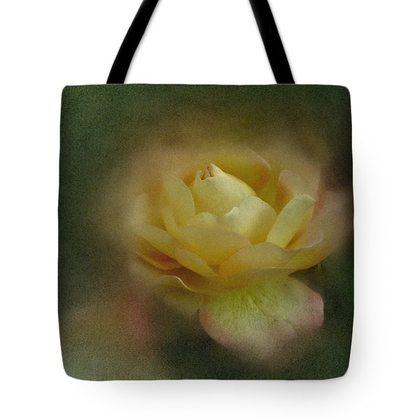 Tote Bag featuring the photograph Vintage October Rose  by Richard Cummings