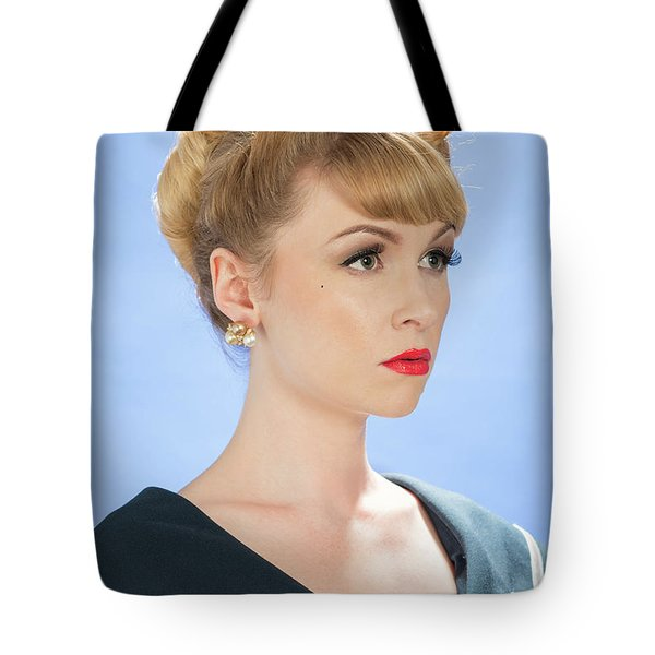 Vintage Woman Tote Bag