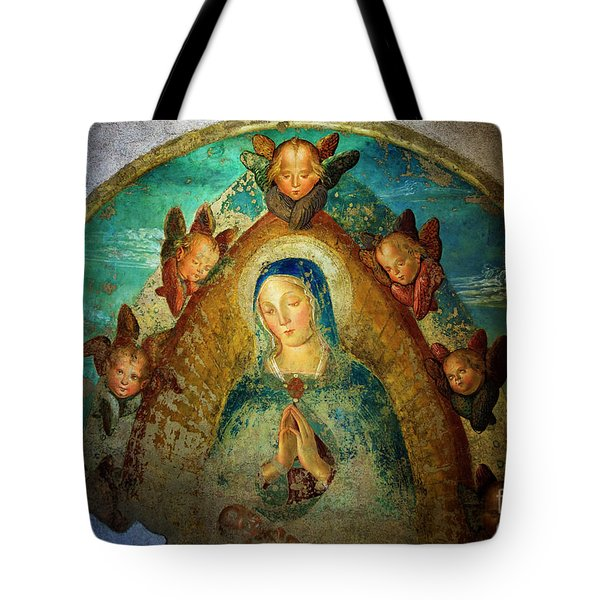 Tote Bag featuring the photograph Virgin Mary by Craig J Satterlee