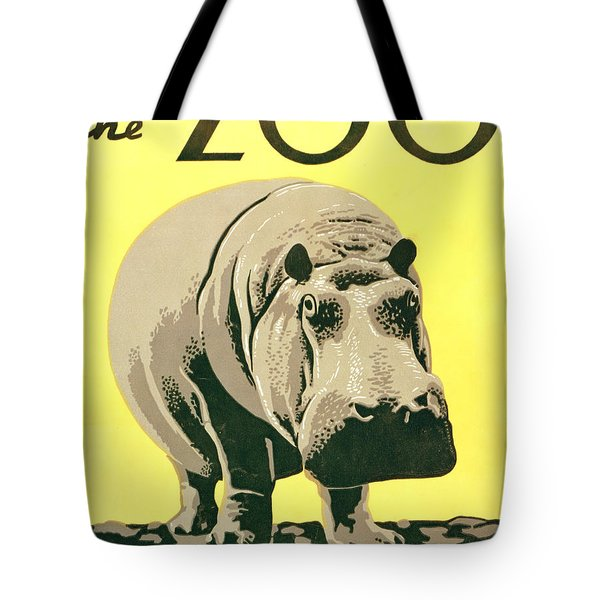Visit The Zoo Tote Bag by Unknown