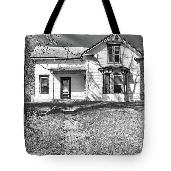 Visiting The Old Homestead Tote Bag