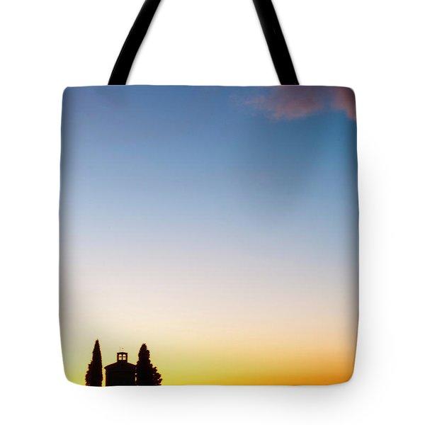 Vitaleta Chapel Tote Bag