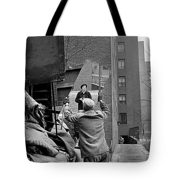 Vivian Maier Self Portrait Probably Taken In Chicago Illinois 1955 Tote Bag