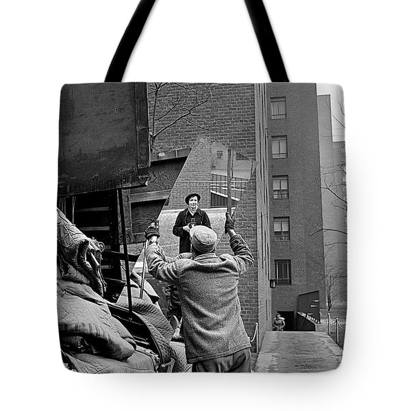 Vivian Maier Self Portrait Probably Taken In Chicago Illinois 1955 Tote Bag