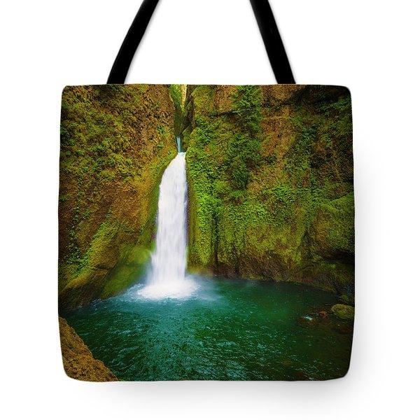 Wahclella Falls Columbia River Gorge Tote Bag