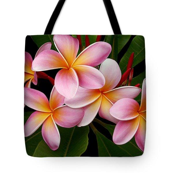 Wailua Sweet Love Tote Bag by Sharon Mau