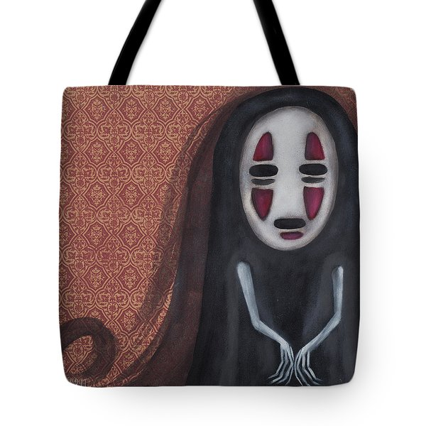 Waiting  Tote Bag by Abril Andrade Griffith