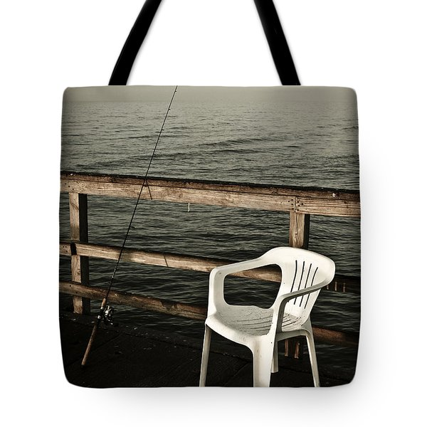 Waiting Tote Bag by Marilyn Hunt
