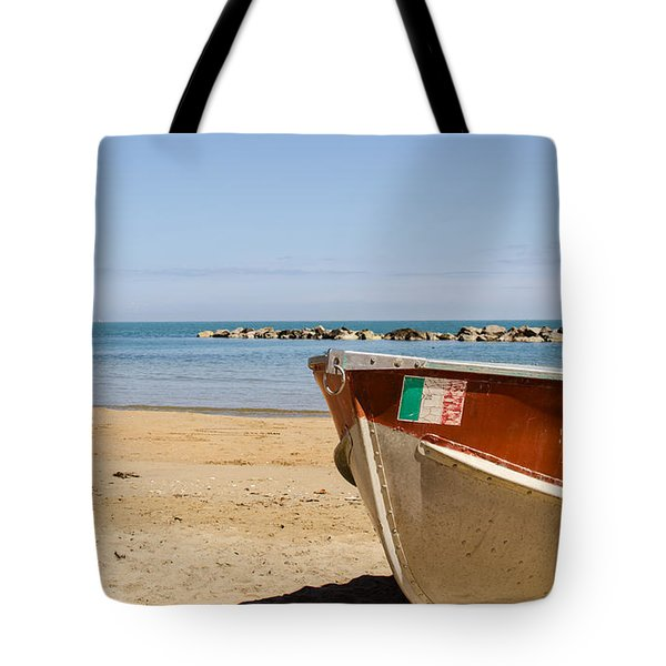Waiting Summer Tote Bag by Andrea Mazzocchetti