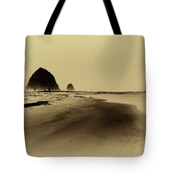 Walking The Beach Tote Bag by David Patterson