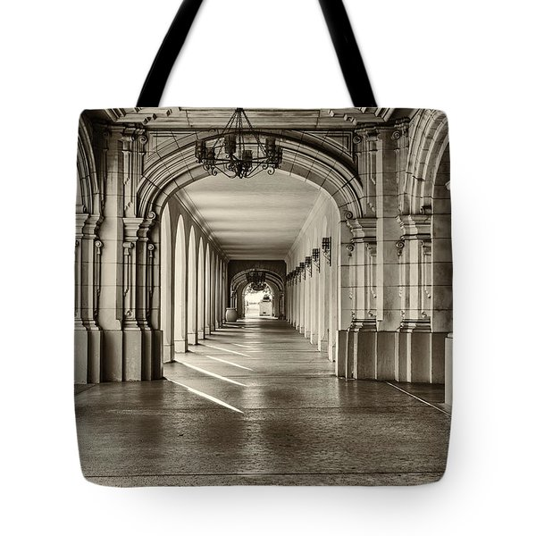 Walkway Tote Bag by Joseph S Giacalone
