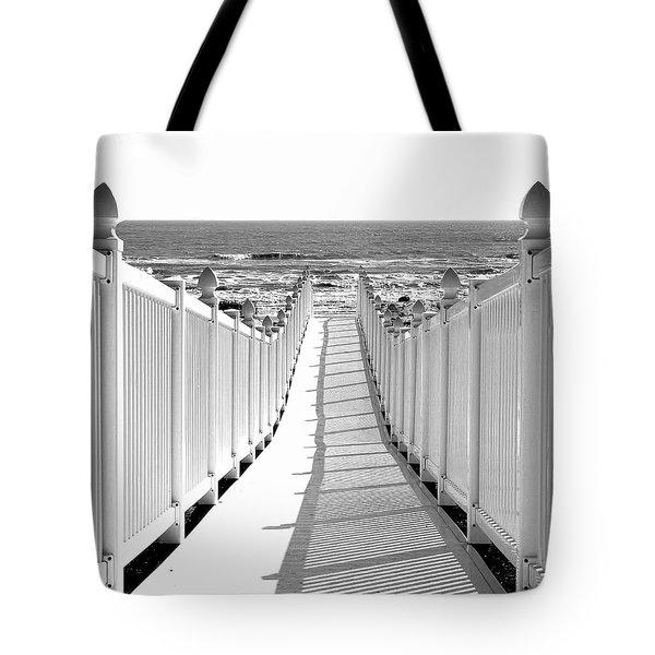 Walkway To Beach Tote Bag