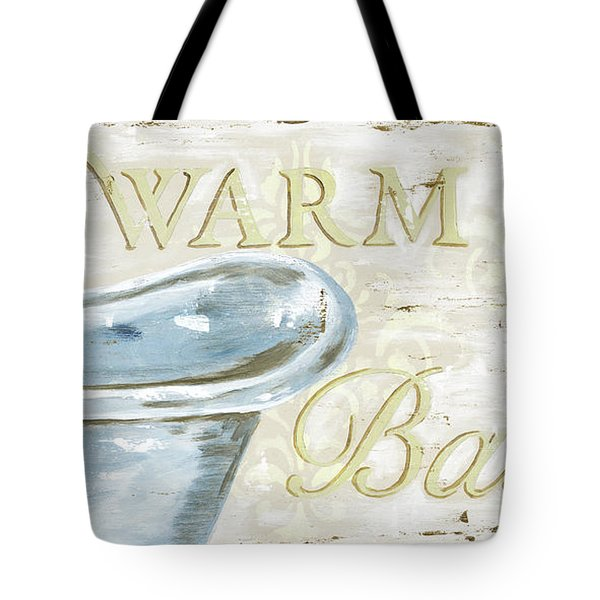 Warm Bath 2 Tote Bag