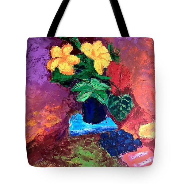 Warm Combination Tote Bag