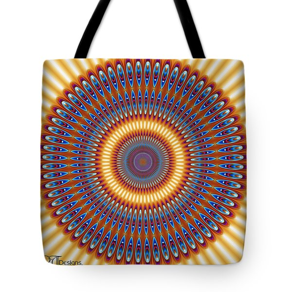 Warrior Shield Tote Bag