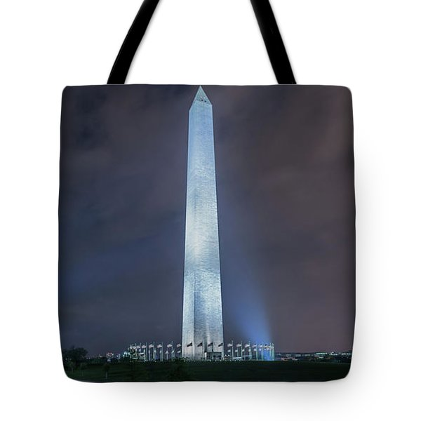 Tote Bag featuring the photograph Washington Monument by Theodore Jones