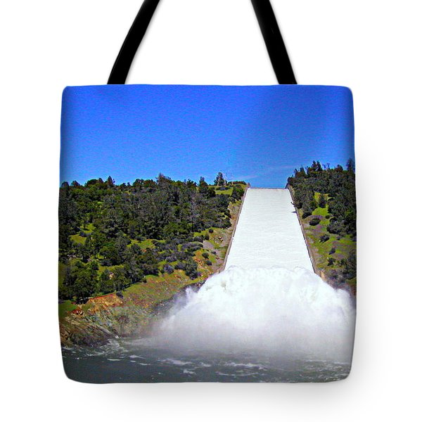 Tote Bag featuring the photograph Water by AJ Schibig