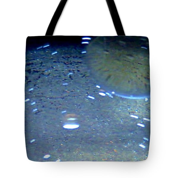 Water Drops Tote Bag by Tim Townsend