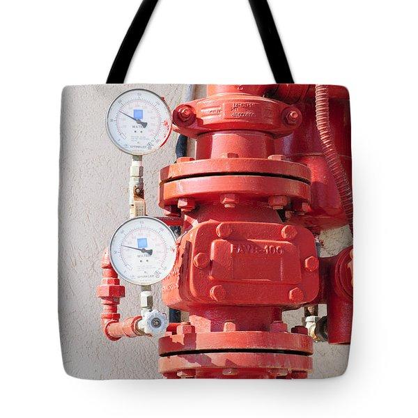 Water Pressure Gauge  Tote Bag