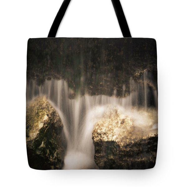 Waterfall Detail Tote Bag