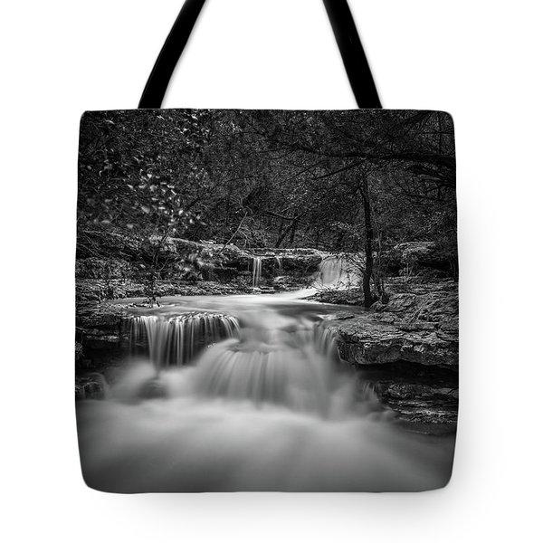 Waterfall In Austin Texas Tote Bag