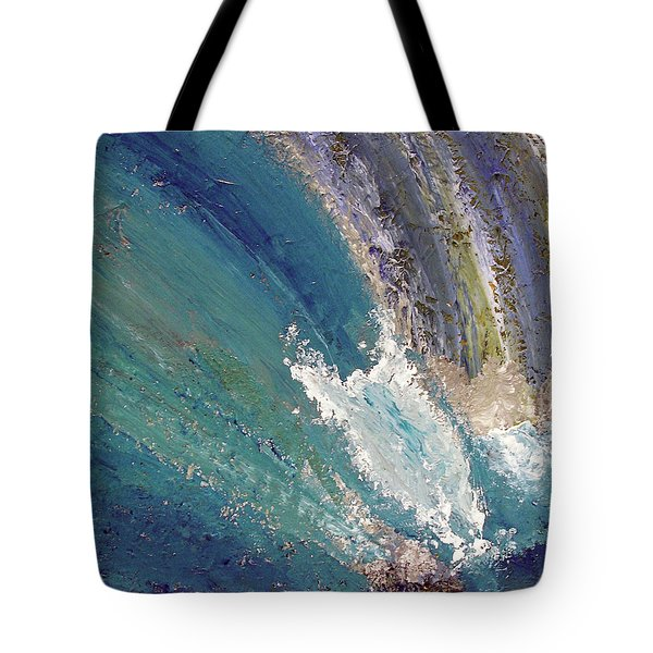Waterfalls 2 Tote Bag by Karen Nicholson
