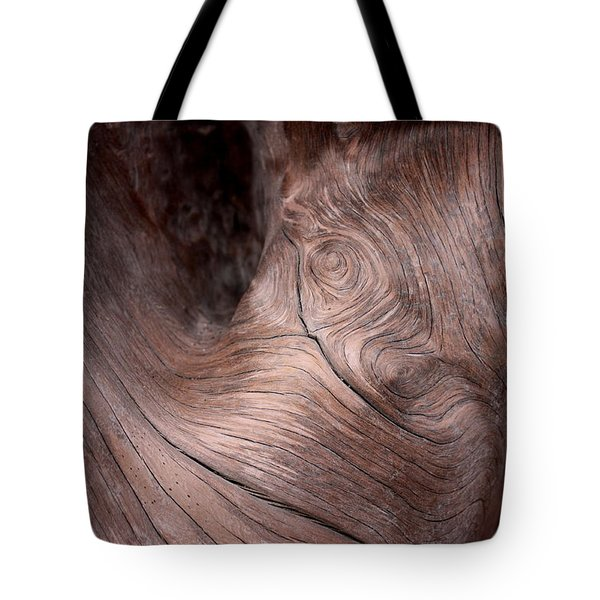 Waves And Wood #2 Tote Bag