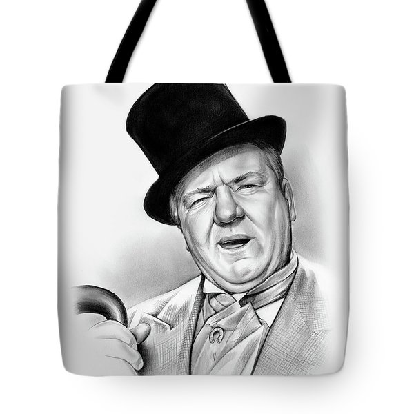 Wc Fields Tote Bag by Greg Joens
