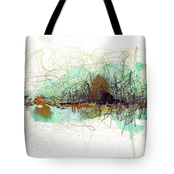 Tote Bag featuring the painting Wearing Of The Green by Rick Baldwin