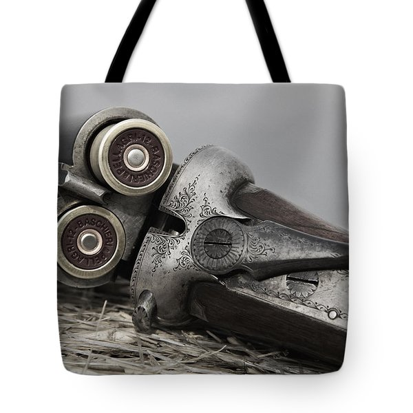 Webley And Scott 12 Gauge - D002721a Tote Bag