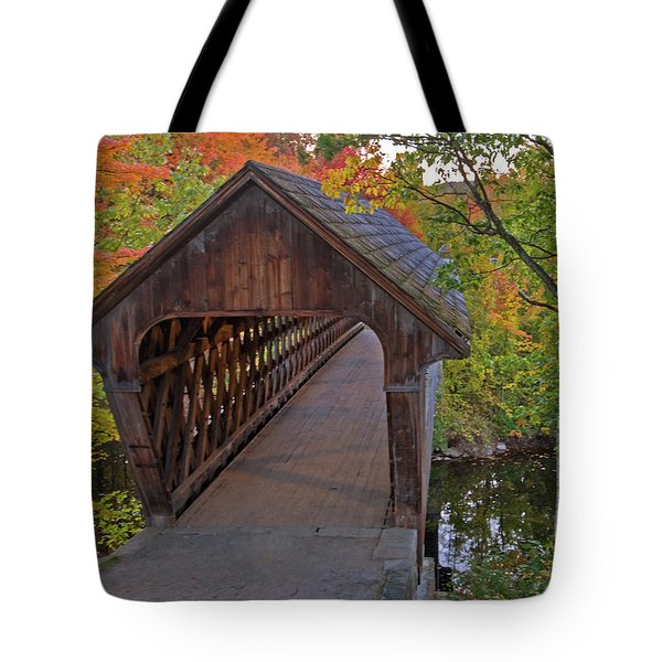 Welcoming Autumn Tote Bag