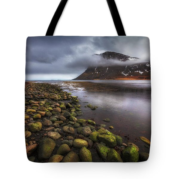 West Fjords Tote Bag by Dominique Dubied