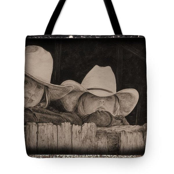 Western Daydreams Tote Bag