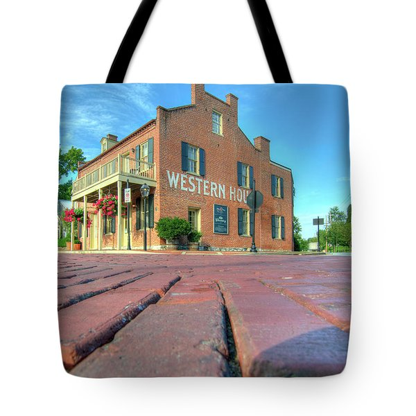 Western House Tote Bag