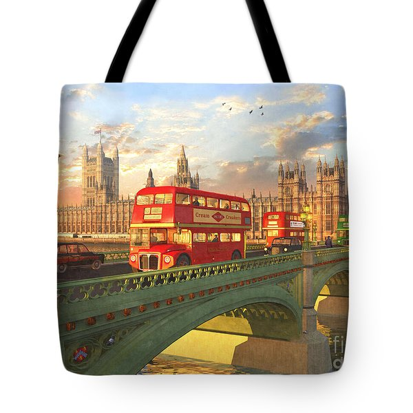 Westminster Bridge Tote Bag by Dominic Davison