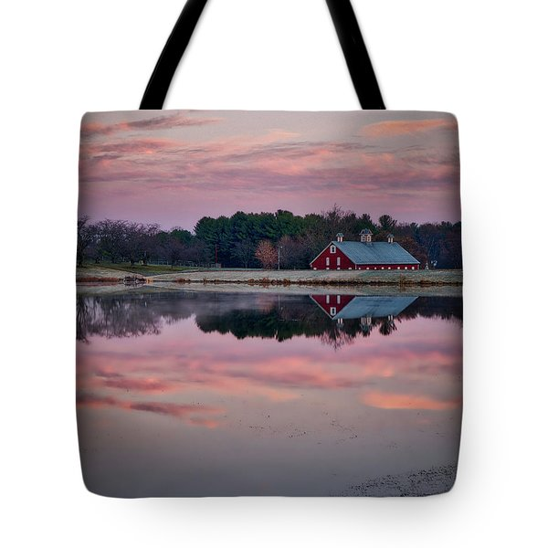 Tote Bag featuring the photograph Westminster Town Pond by Mark Dodd