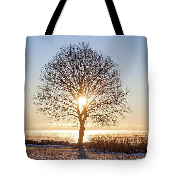 Tote Bag featuring the photograph Whaleback Sunrise by Robert Clifford