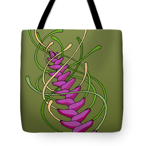 whEAT alien FUCsia I Tote Bag