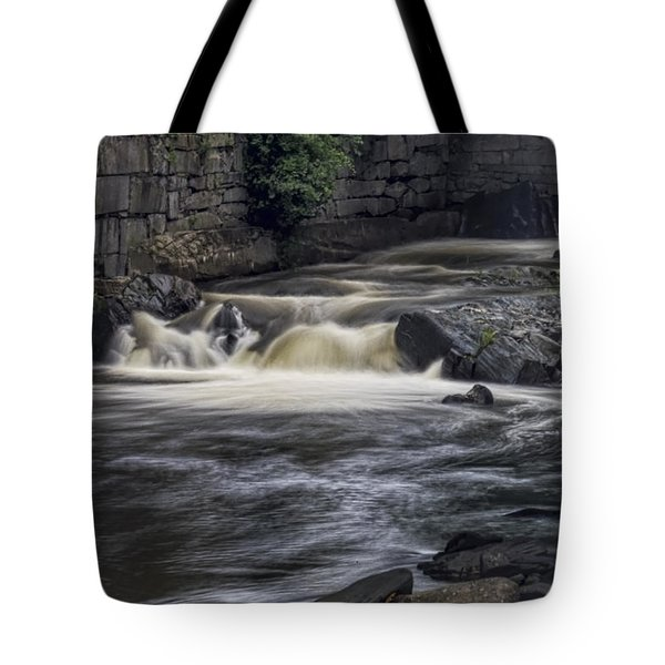 Tote Bag featuring the photograph Whetstone Brook by Tom Singleton