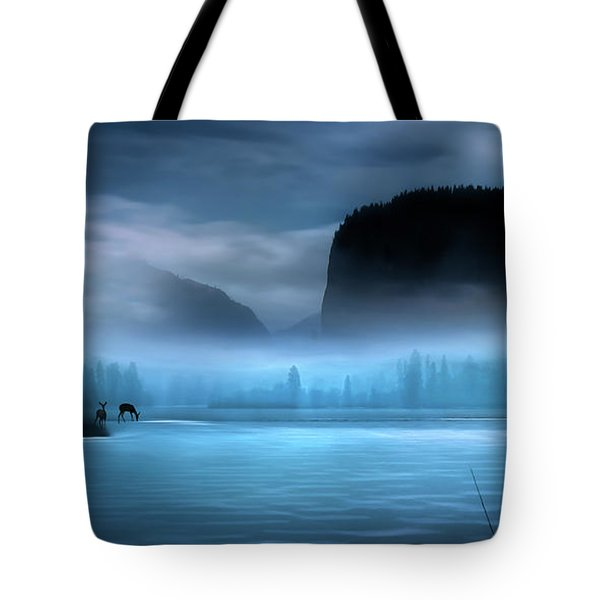 Tote Bag featuring the photograph While You Were Sleeping by John Poon