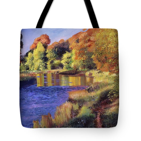 Whispering River Tote Bag