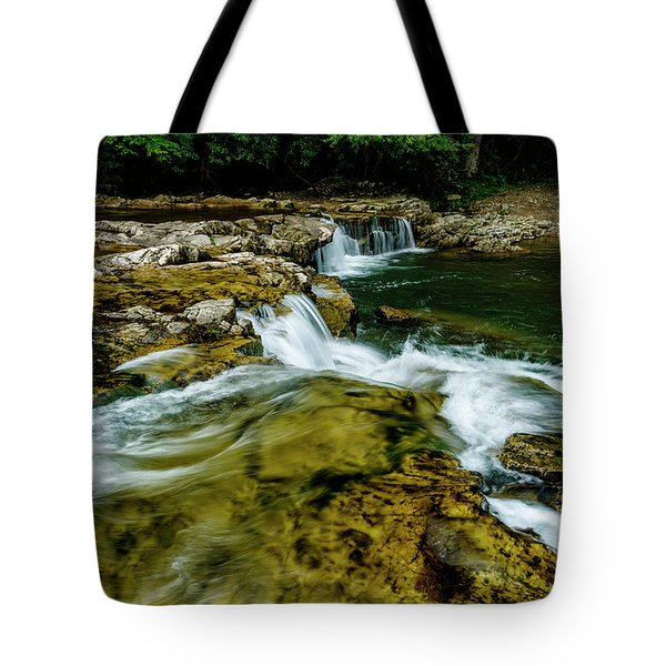 Whitaker Falls In Summer Tote Bag