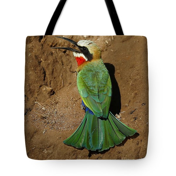 White Fronted Bee-eater Tote Bag