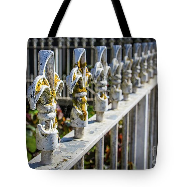 Tote Bag featuring the photograph White Iron by Perry Webster