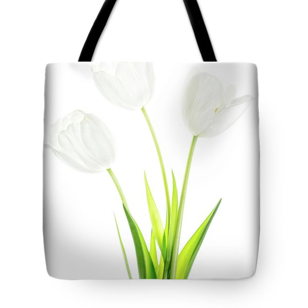 Tote Bag featuring the photograph White On White by Rebecca Cozart
