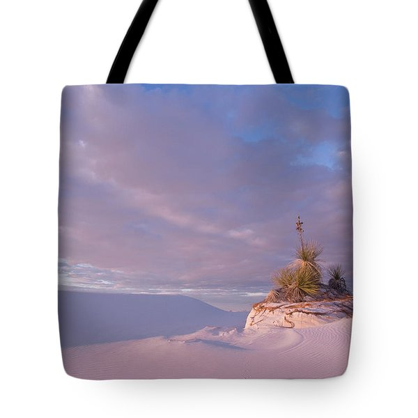 White Sands At Sunset Tote Bag