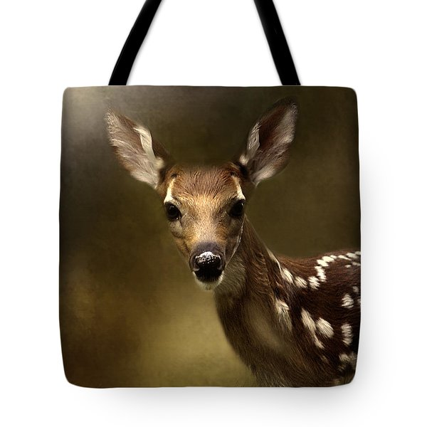 Whitetail Fawn Tote Bag
