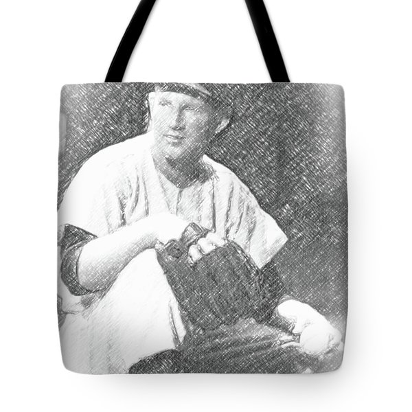 Whitey Ford Tote Bag