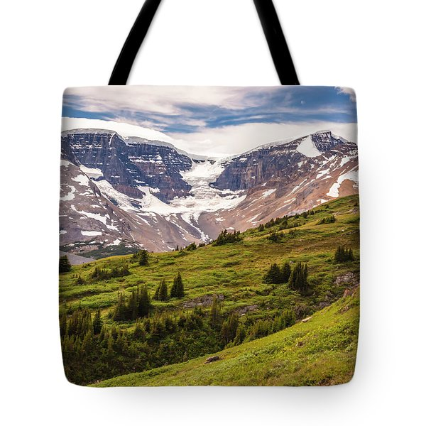 Tote Bag featuring the photograph Wilcox Pass by Mark Mille